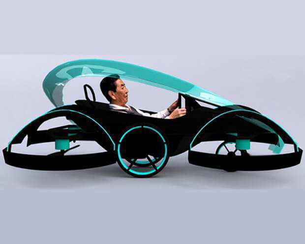 70 Gallery of 2020 Toyota Flying Car Concept by 2020 Toyota Flying Car