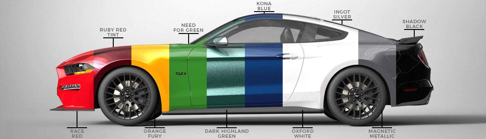 70 The 2019 Ford Mustang Colors Rumors with 2019 Ford Mustang Colors