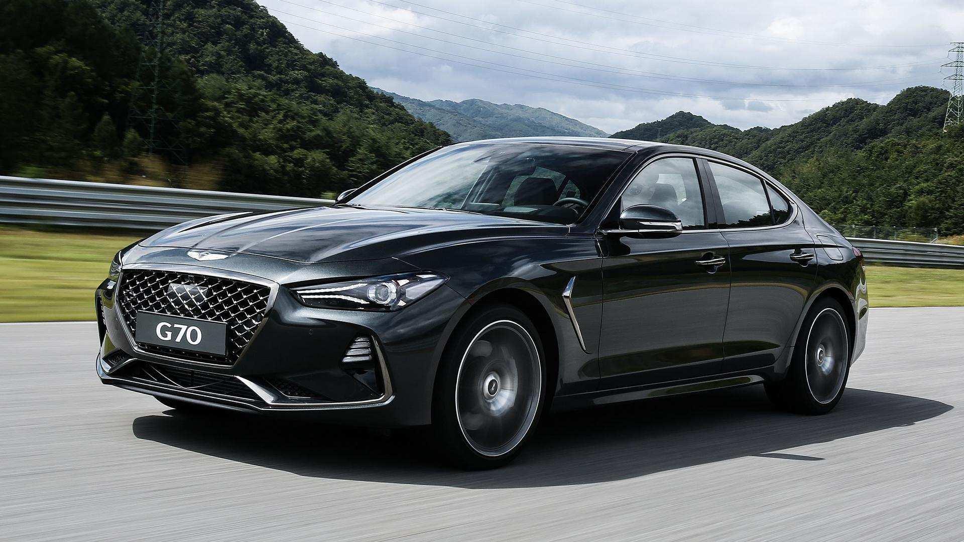 70 The 2019 Hyundai Genesis G70 Exterior by 2019 Hyundai Genesis G70
