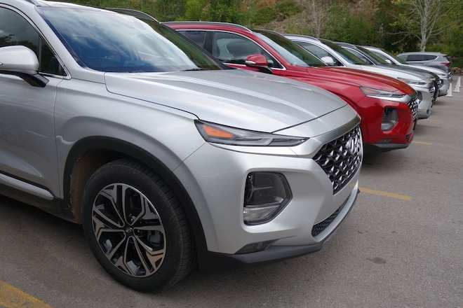 70 The 2019 Hyundai Santa Fe Test Drive Price and Review with 2019 Hyundai Santa Fe Test Drive