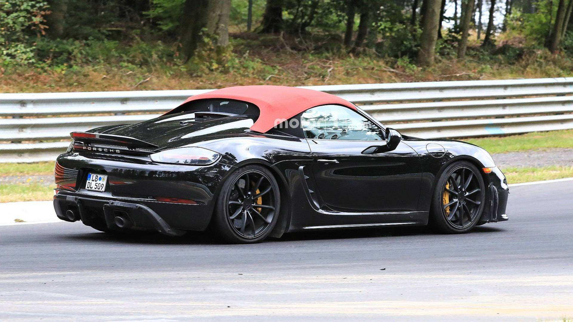 71 Gallery of 2019 Porsche Boxster Spyder Style with 2019 Porsche Boxster Spyder