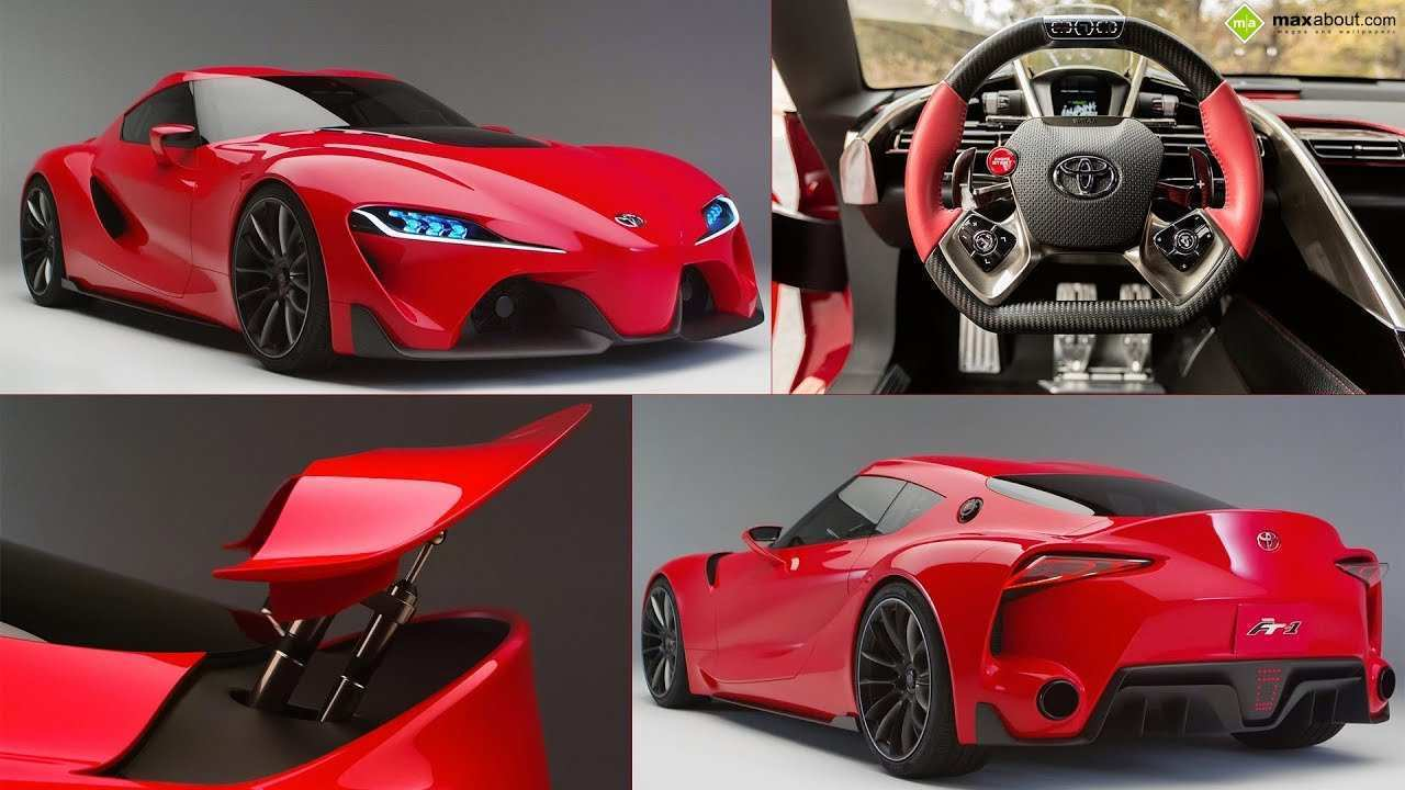 71 Gallery of 2019 Toyota Ft1 Concept by 2019 Toyota Ft1