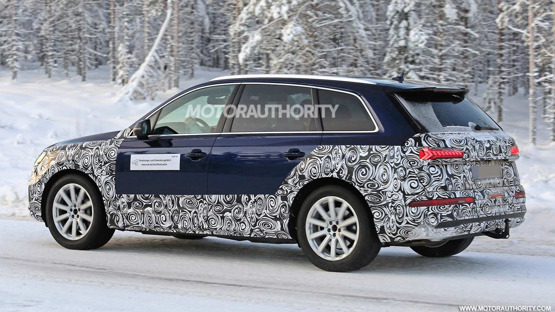 71 Great 2019 Audi Q7 Facelift Spy Shoot with 2019 Audi Q7 Facelift