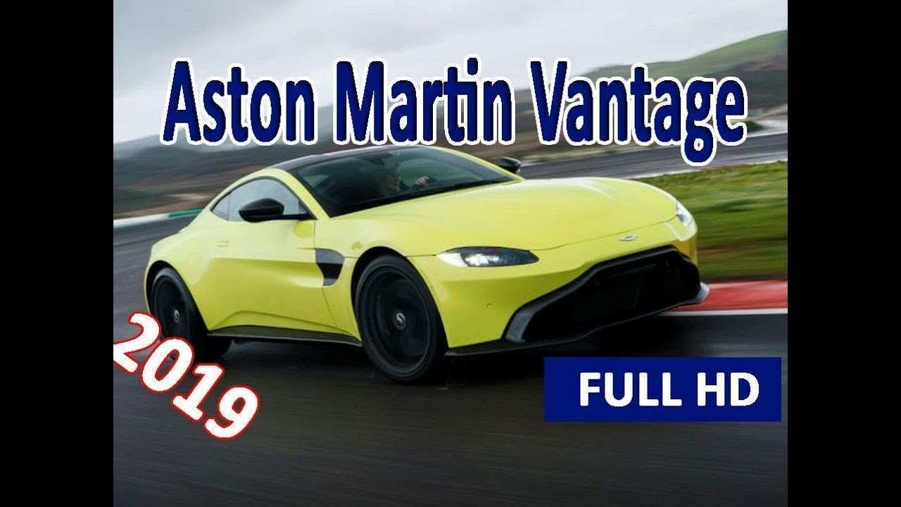 71 New 2019 Aston Martin Vantage Predictably Stunning Speed Test with 2019 Aston Martin Vantage Predictably Stunning