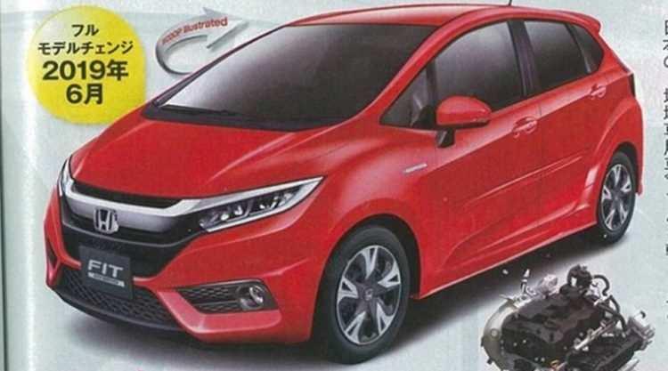 71 The 2019 Honda Fit Rumors New Concept by 2019 Honda Fit Rumors