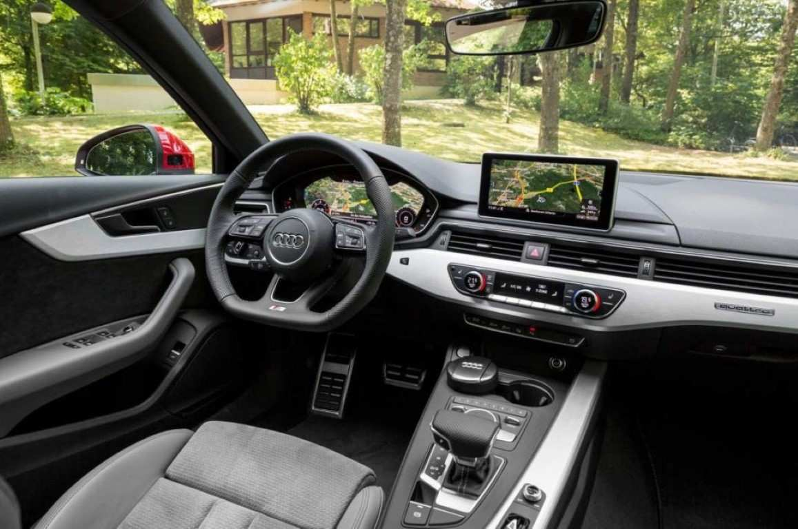 72 Best Review 2019 Audi A4 Interior Spy Shoot by 2019 Audi A4 Interior