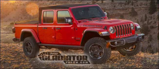 72 New 2019 Jeep Jt Price First Drive by 2019 Jeep Jt Price