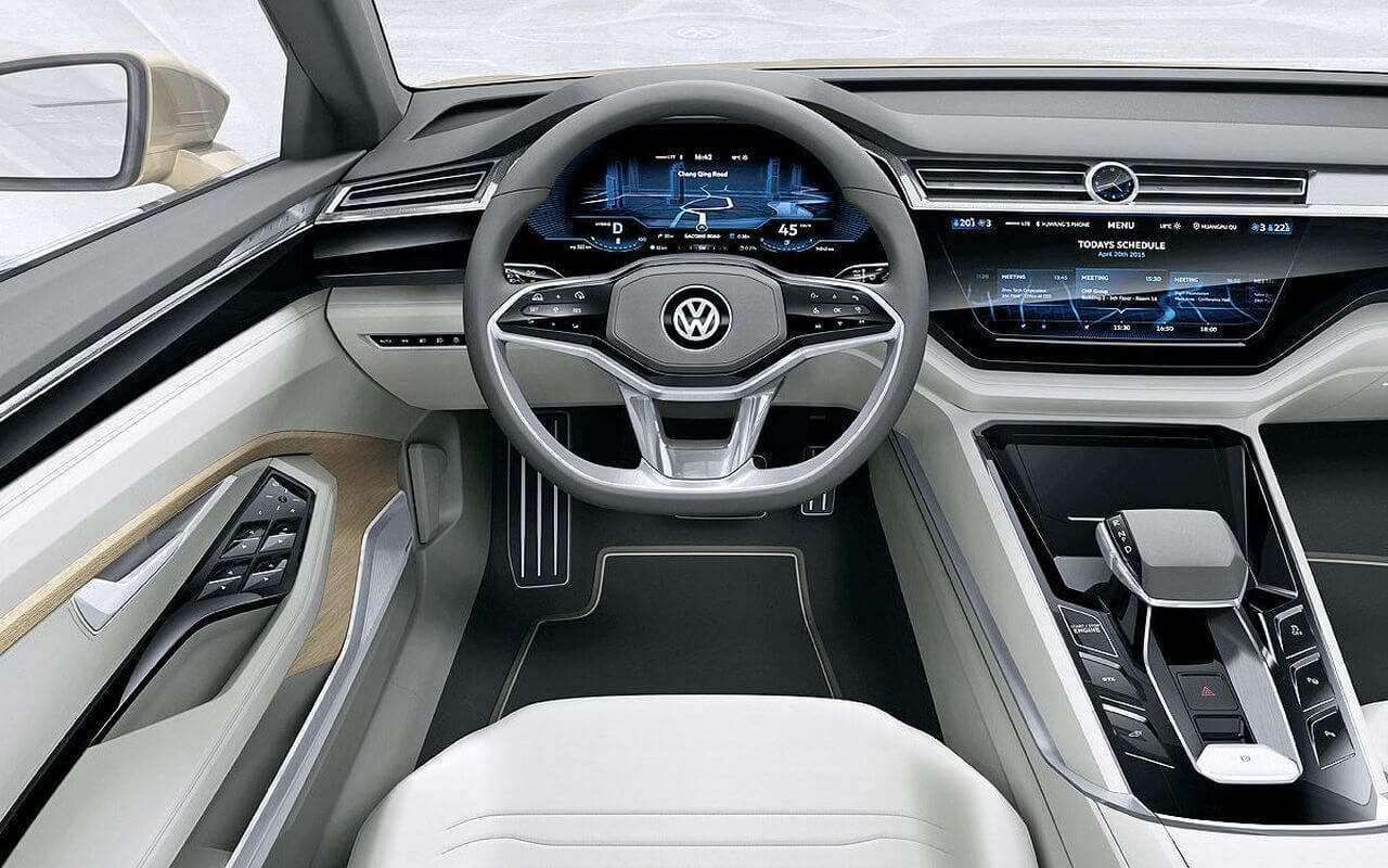 72 The 2019 Volkswagen Touareg Interior New Review with 2019 Volkswagen Touareg Interior