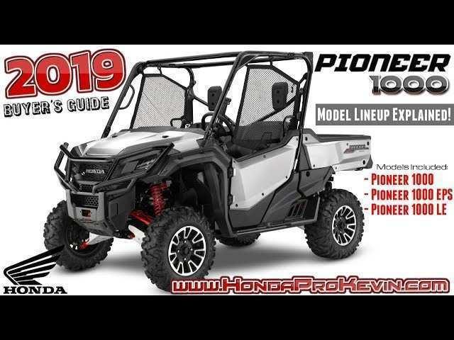 73 Best Review 2019 Honda 1000 Pioneer Images for 2019 Honda 1000 Pioneer