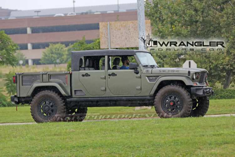 73 Gallery of 2019 Jeep Pickup Diesel Spy Shoot by 2019 Jeep Pickup Diesel