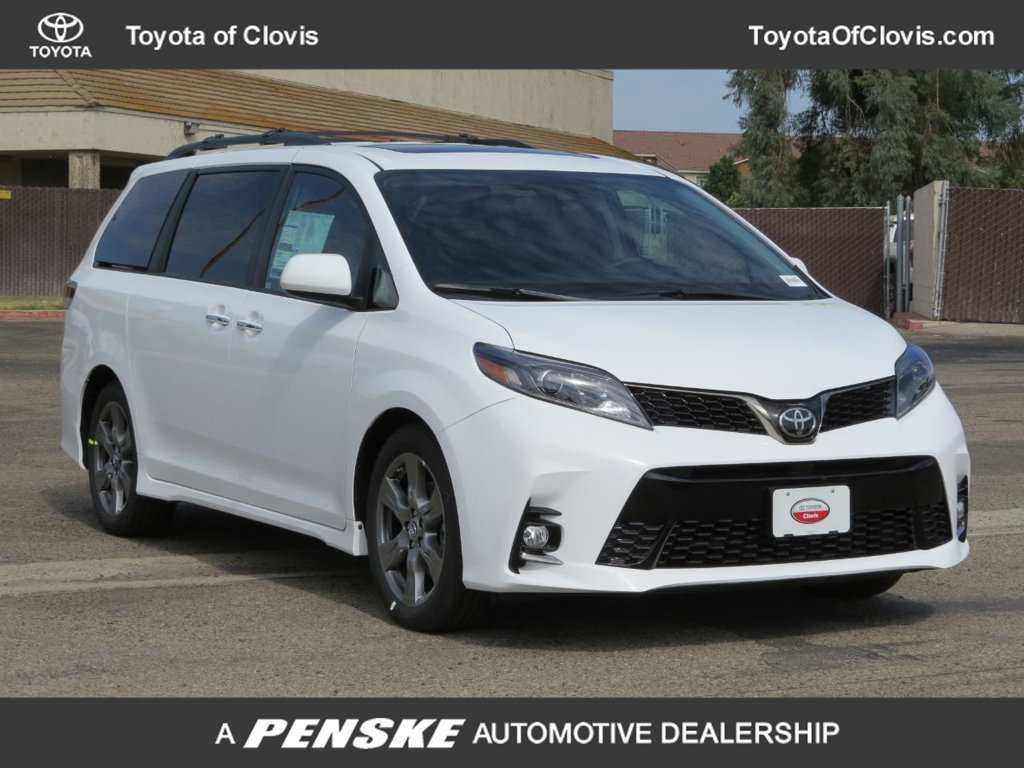 73 Gallery of 2019 Toyota Sienna Se Redesign with 2019 Toyota Sienna Se