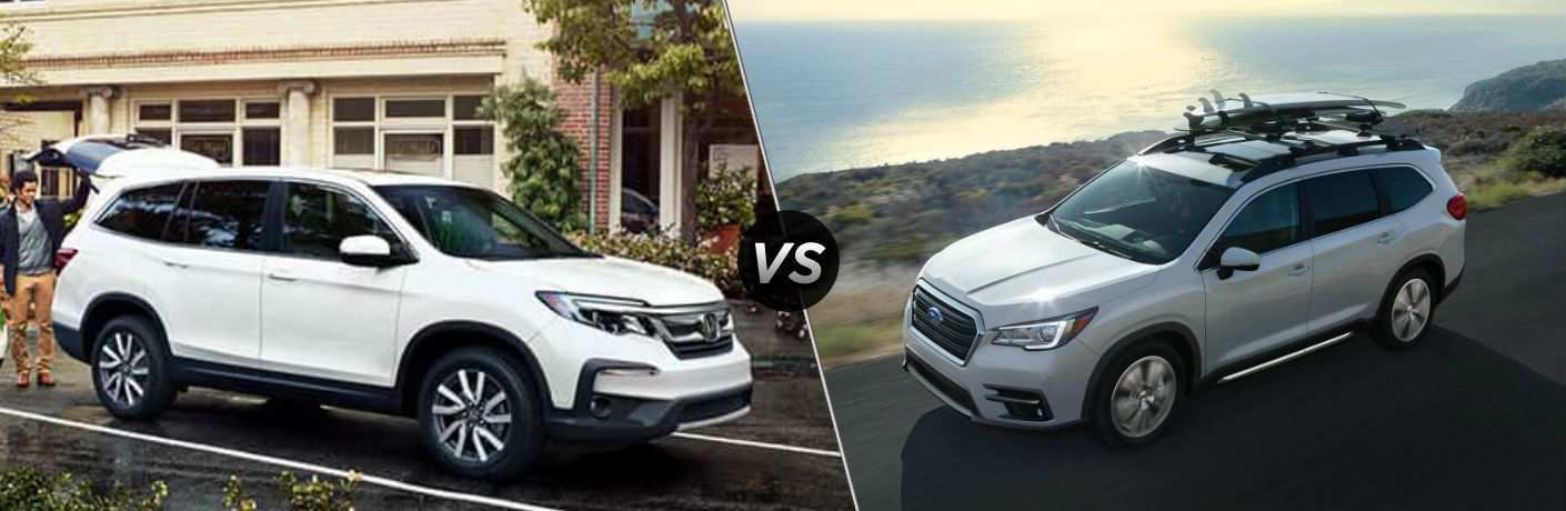 73 New 2019 Subaru Ascent Vs Honda Pilot Vs Toyota Highlander Ratings by 2019 Subaru Ascent Vs Honda Pilot Vs Toyota Highlander