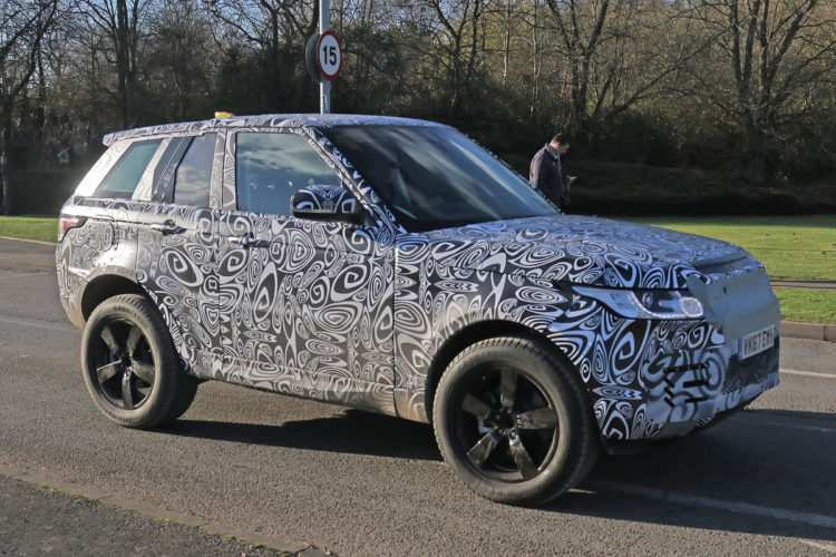 73 New New Land Rover 2020 Spy Shoot with New Land Rover 2020