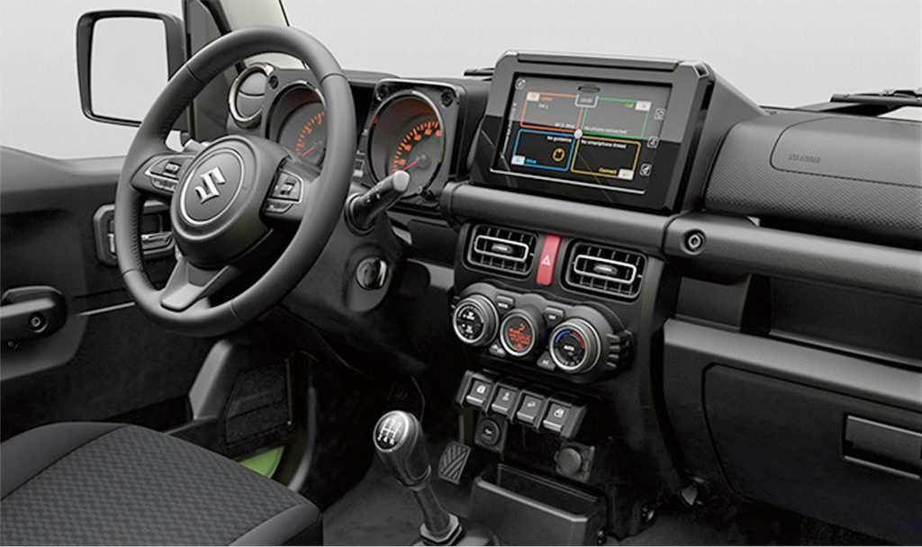 74 Best Review Suzuki Jimny 2019 Interior Style for Suzuki Jimny 2019 Interior