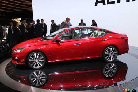 74 Gallery of 2019 Nissan Altima News Model with 2019 Nissan Altima News