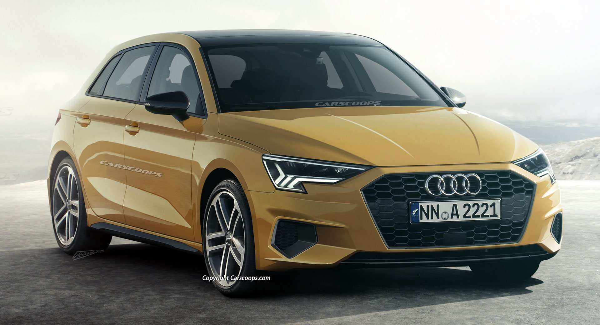 74 New New 2019 Audi A3 Concept with New 2019 Audi A3