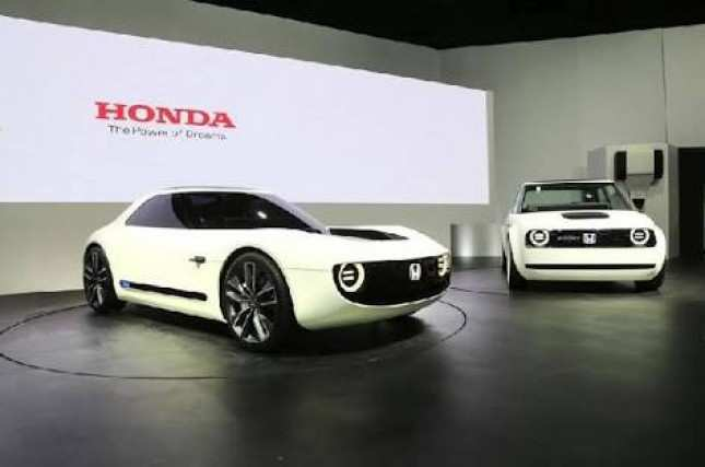 74 The 2019 Honda Electric Car New Concept by 2019 Honda Electric Car