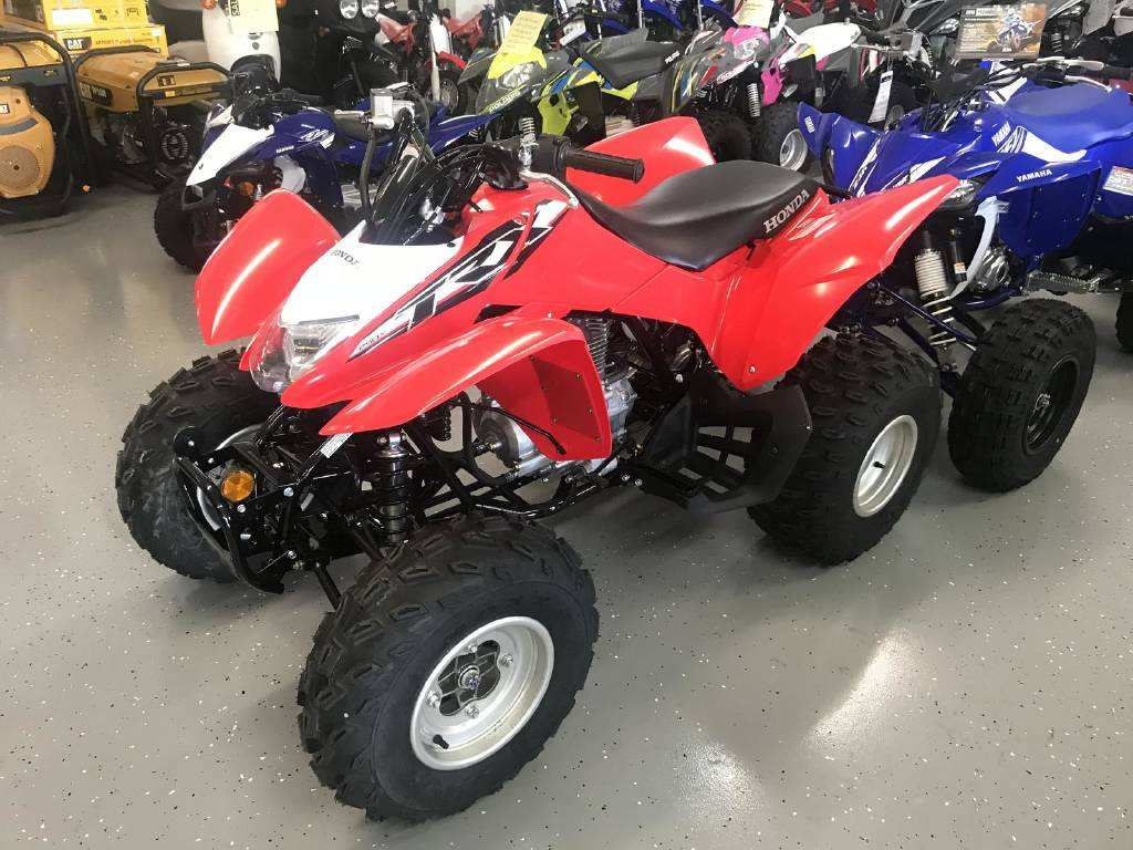 74 The 2019 Honda Trx250X Exterior and Interior for 2019 Honda Trx250X