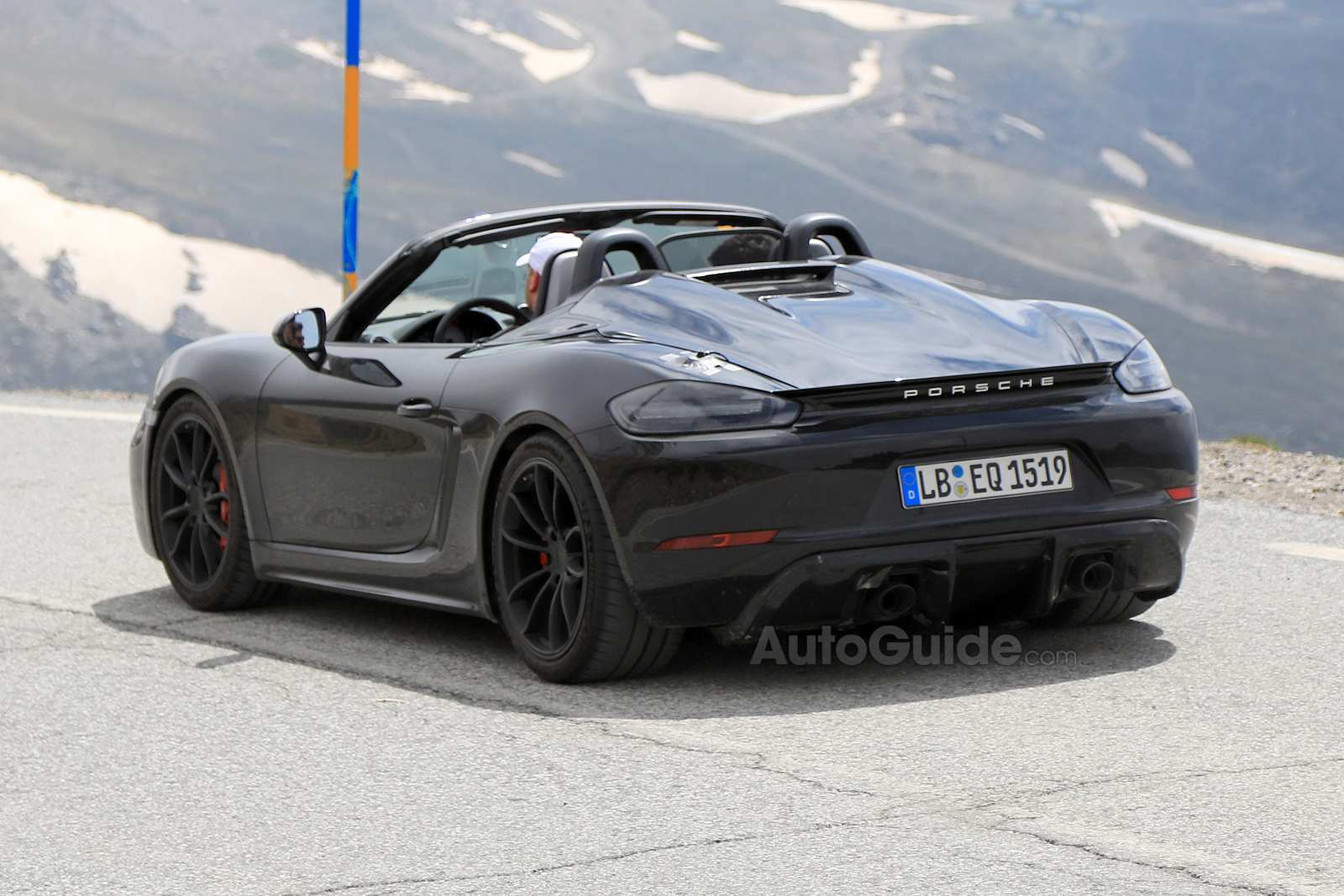 74 The 2019 Porsche Boxster Spyder Spy Shoot with 2019 Porsche Boxster Spyder