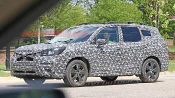74 The 2019 Subaru Forester Spy Photos Exterior with 2019 Subaru Forester Spy Photos