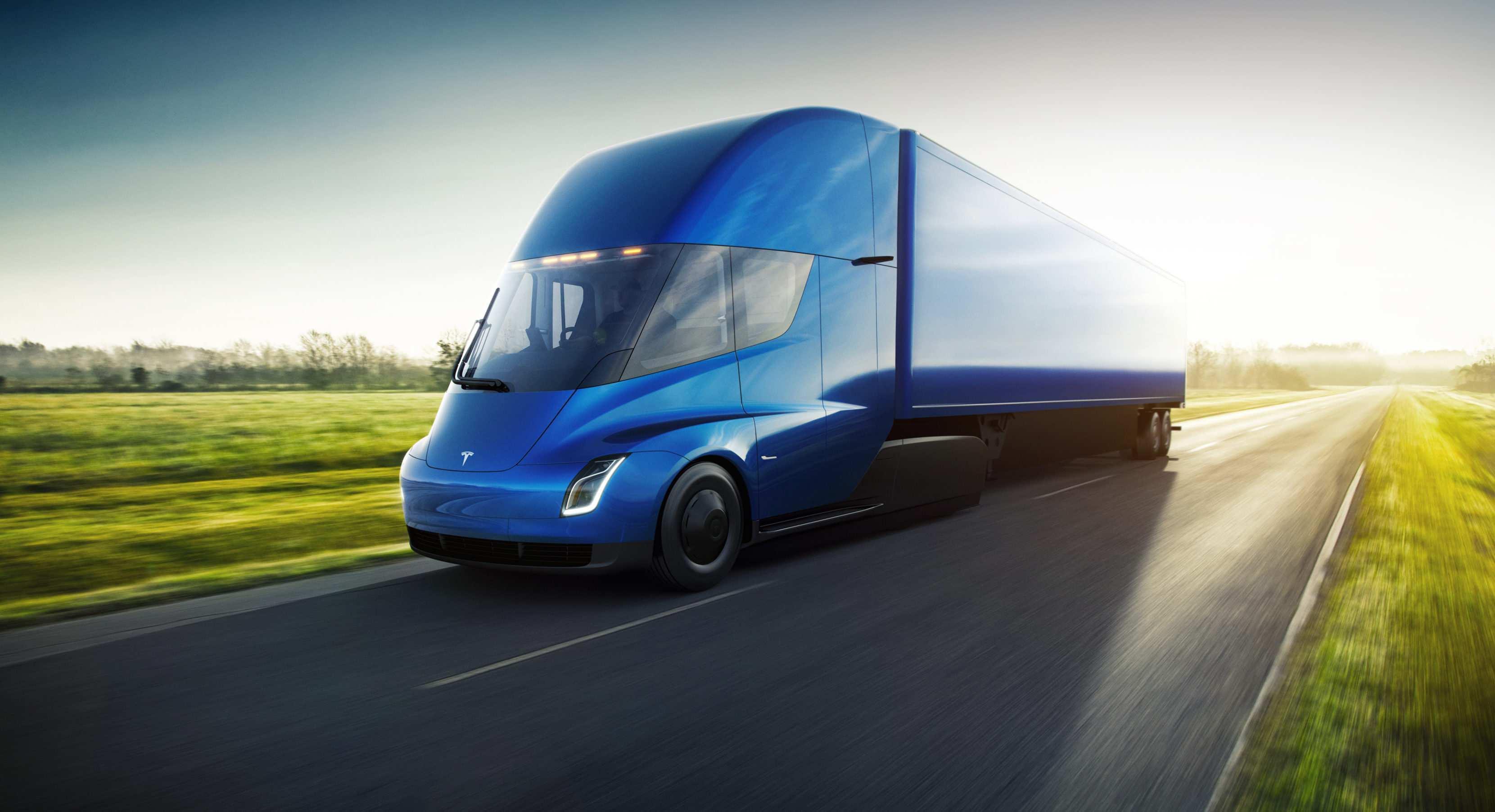 75 Best Review 2019 Tesla Semi Truck Concept for 2019 Tesla Semi Truck