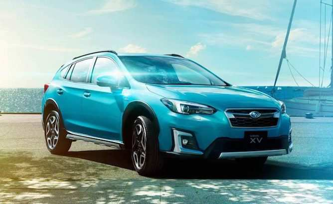 75 The 2019 Subaru Electric Spy Shoot with 2019 Subaru Electric