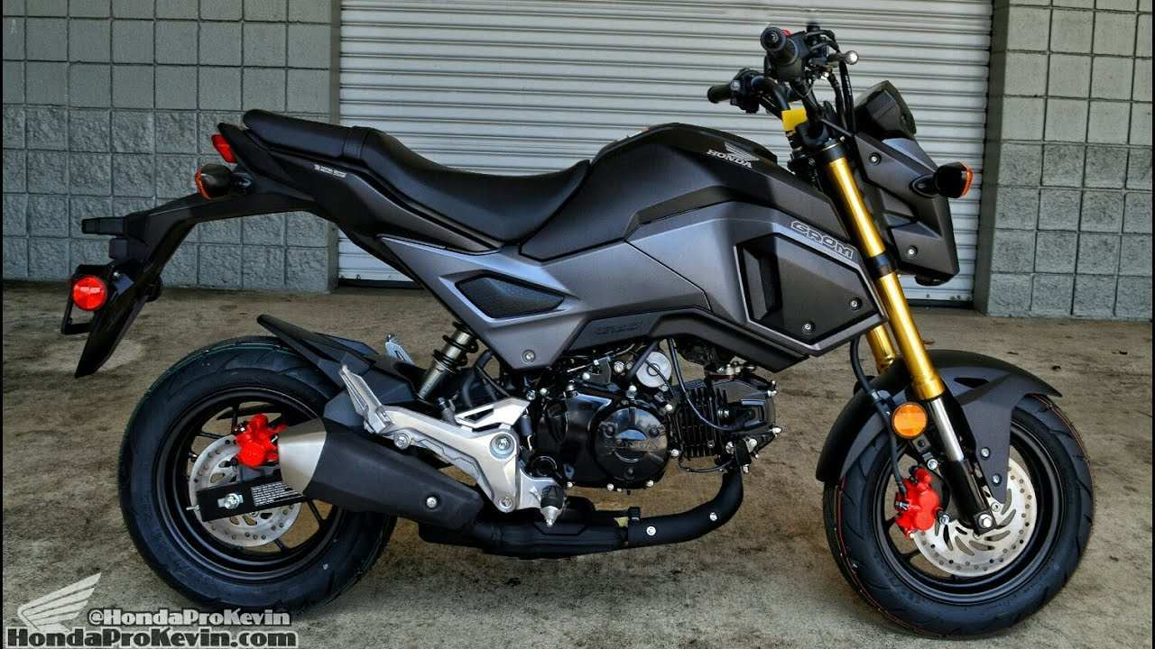 76 All New 2019 Honda Grom Specs Release Date for 2019 Honda Grom Specs