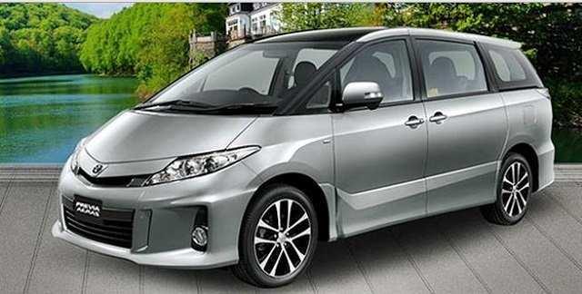 76 Concept of 2019 Toyota Estima Exterior and Interior with 2019 Toyota Estima