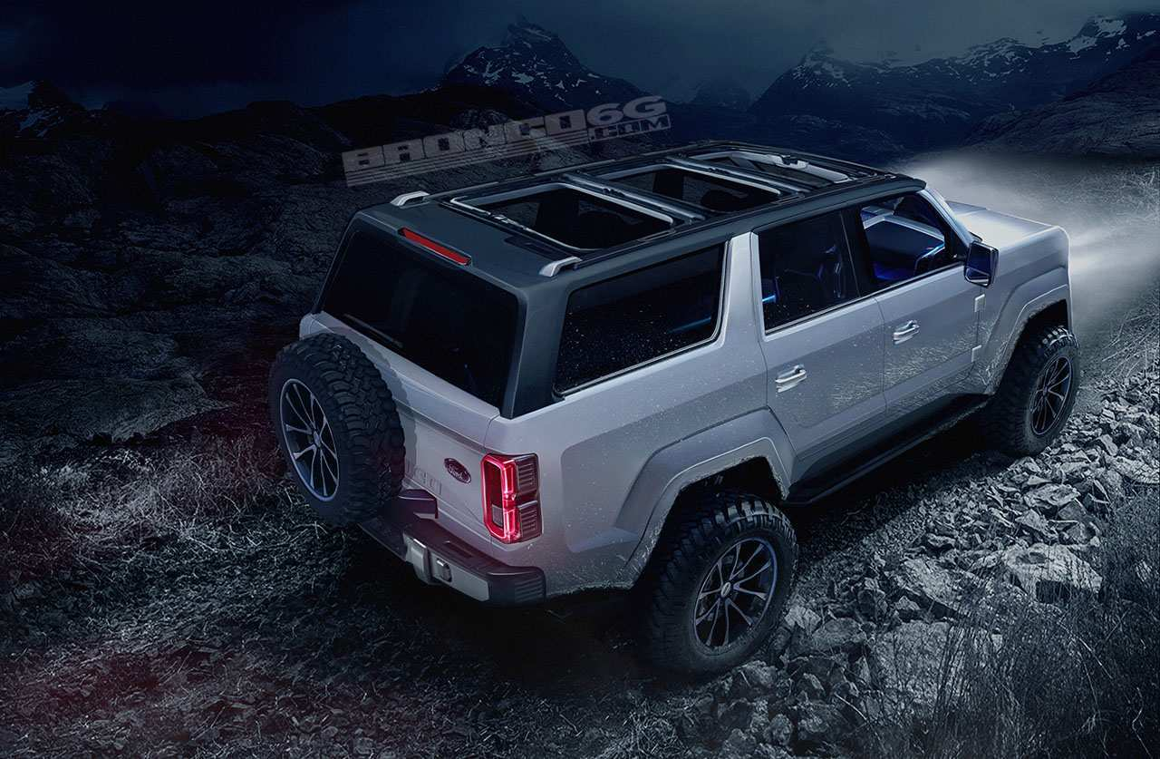 76 Gallery of Ford Bronco 2020 4 Door Redesign and Concept for Ford Bronco 2020 4 Door