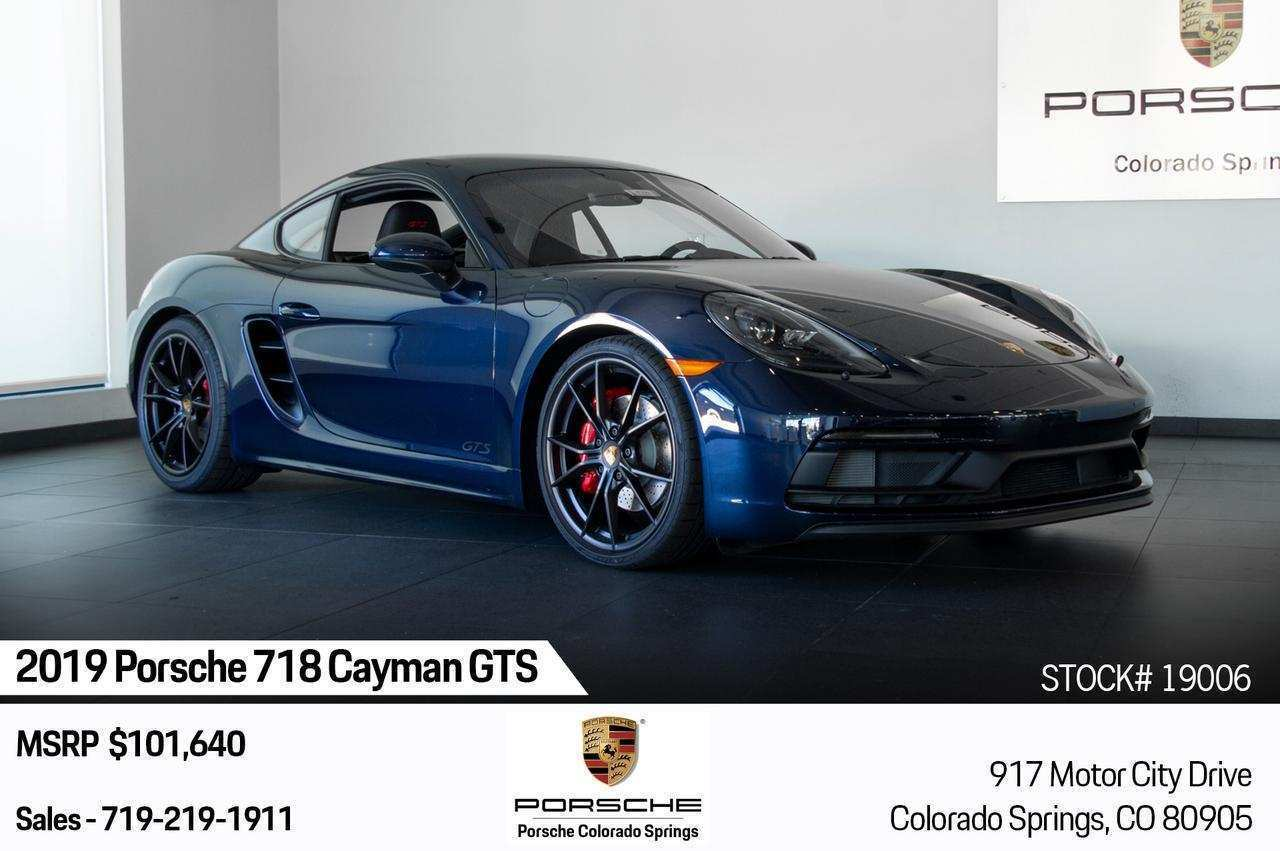 76 New 2019 Porsche Cayman Specs for 2019 Porsche Cayman