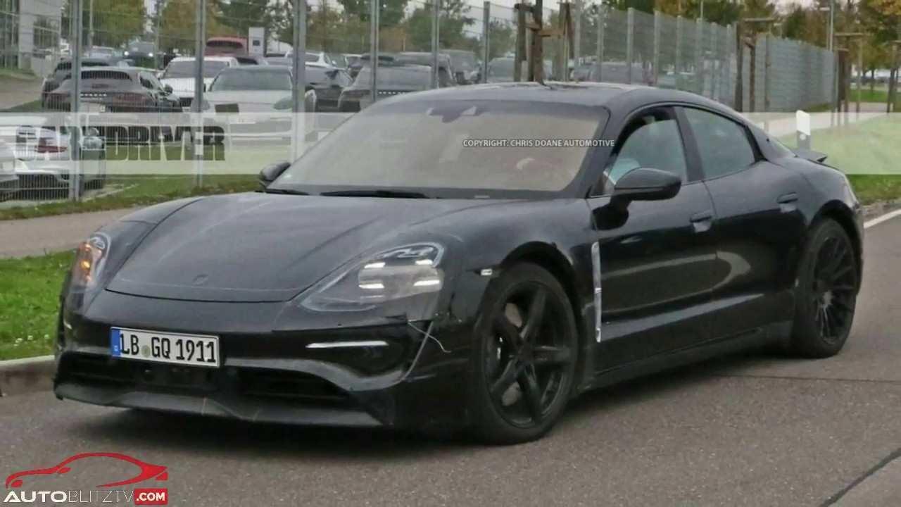 76 The 2020 Porsche Mission E Electric Sedan Spied Testing Alongside Teslas New Concept for 2020 Porsche Mission E Electric Sedan Spied Testing Alongside Teslas