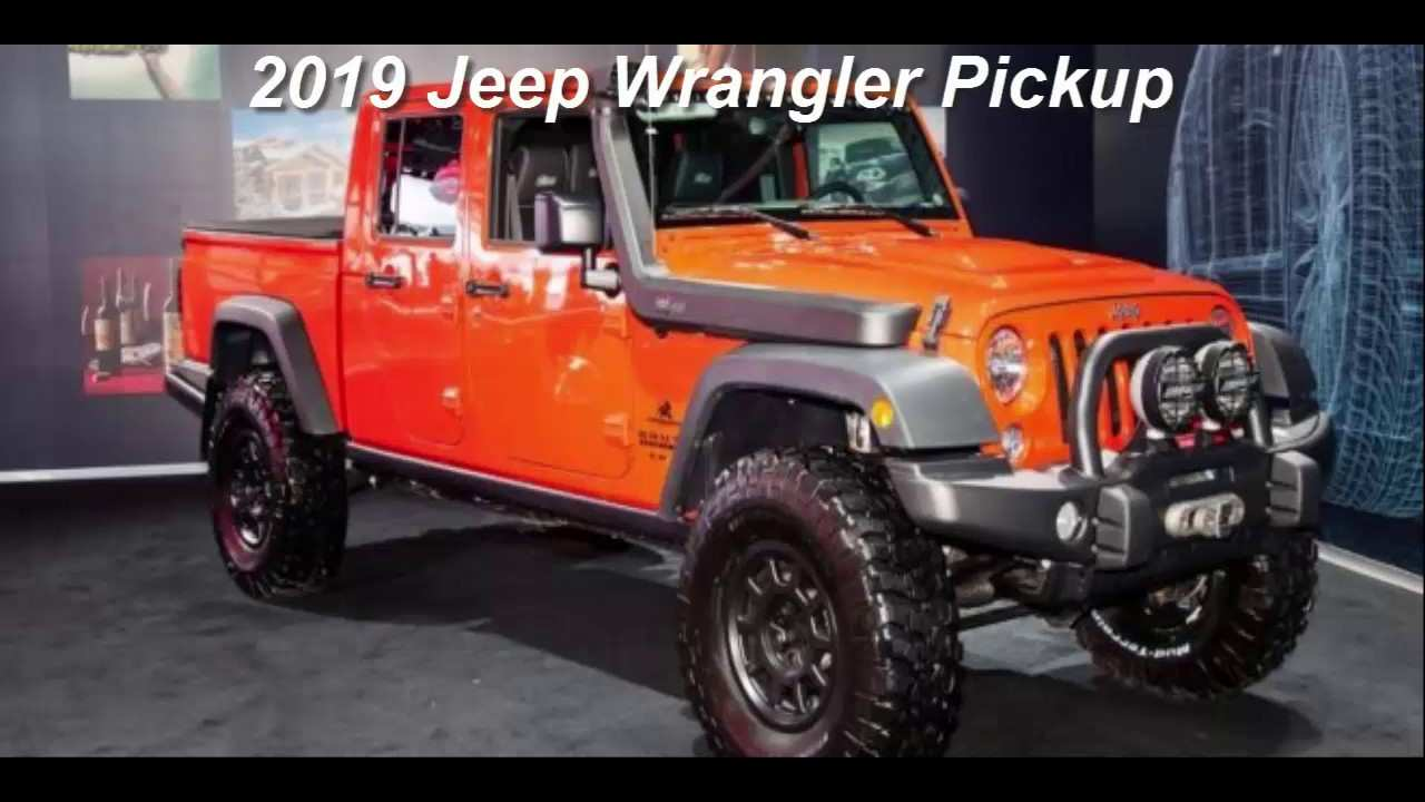 77 All New 2019 Jeep 4 Door Truck Spy Shoot for 2019 Jeep 4 Door Truck