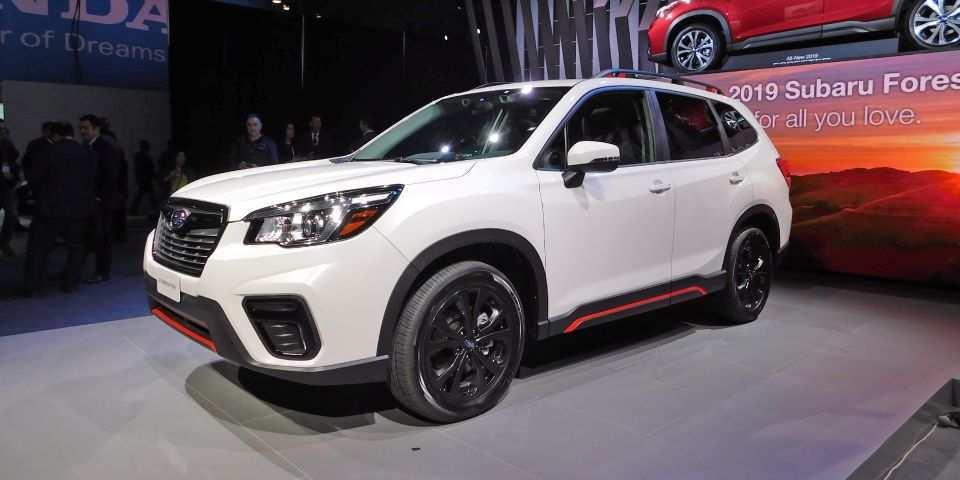 77 Concept of 2019 Subaru Global Platform Redesign with 2019 Subaru Global Platform