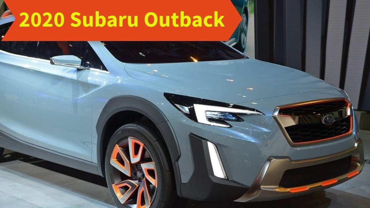 77 Concept of 2020 Subaru Outback Wagon Rumors for 2020 Subaru Outback Wagon