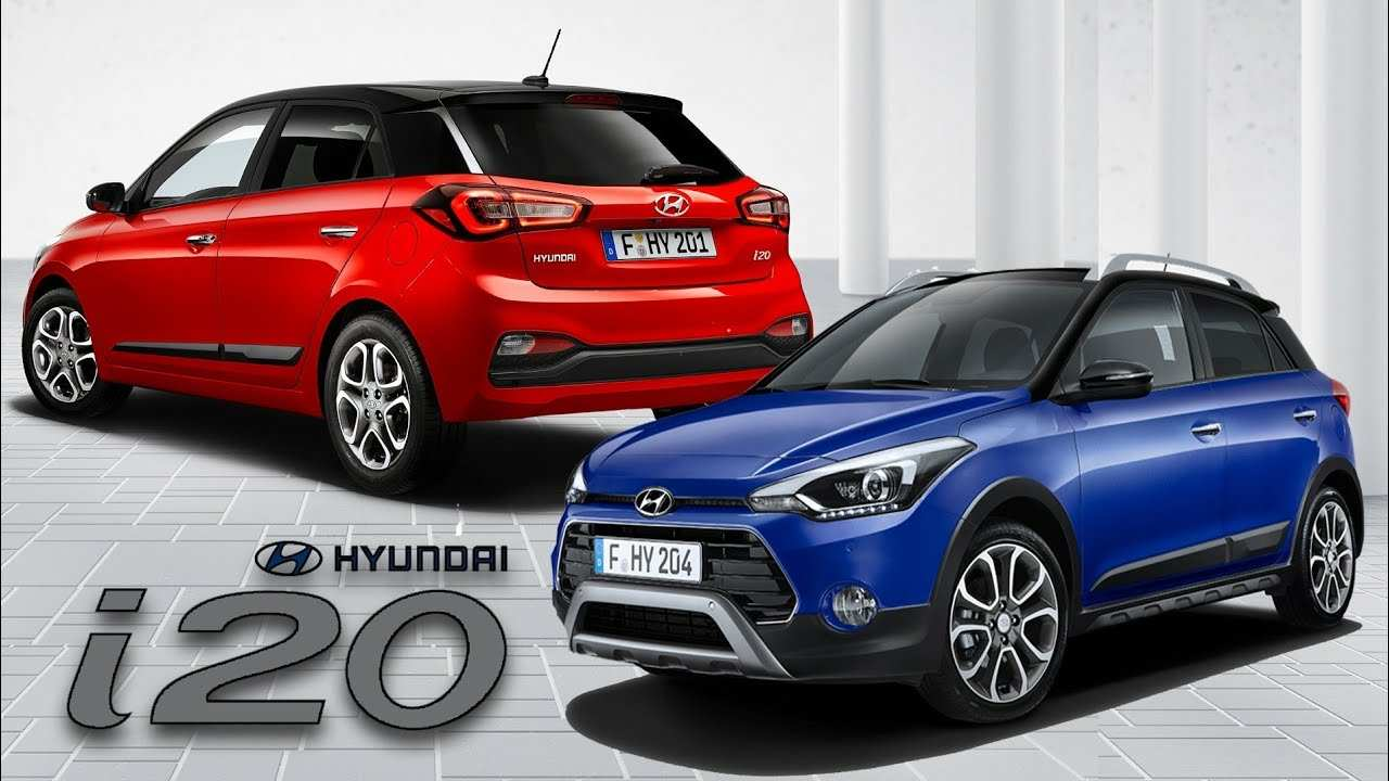 77 Gallery of 2019 Hyundai I20 Active Redesign by 2019 Hyundai I20 Active