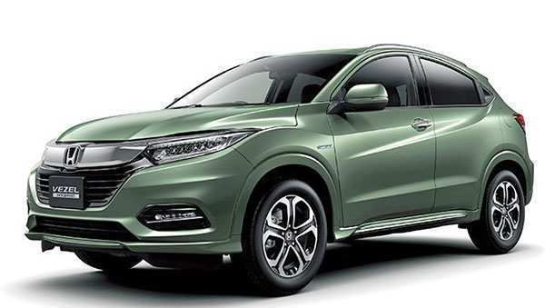 78 All New 2019 Honda Vezel Interior with 2019 Honda Vezel