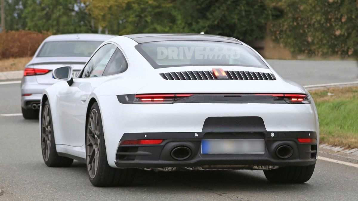 78 All New 2019 Porsche 911 Hybrid Exterior with 2019 Porsche 911 Hybrid