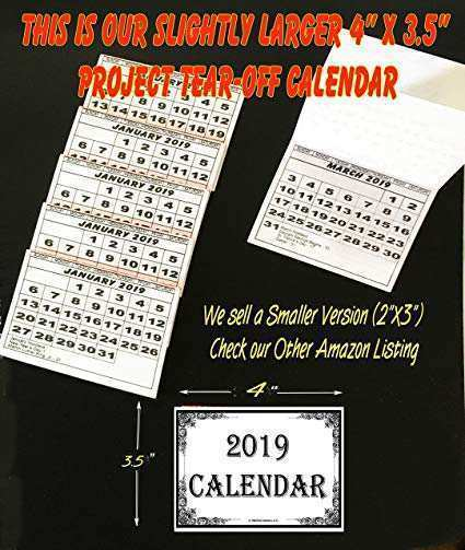 78 Great 2019 Mini Tear Off Calendar Reviews by 2019 Mini Tear Off Calendar