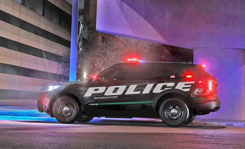 78 Great 2020 Ford Police Utility Exterior with 2020 Ford Police Utility