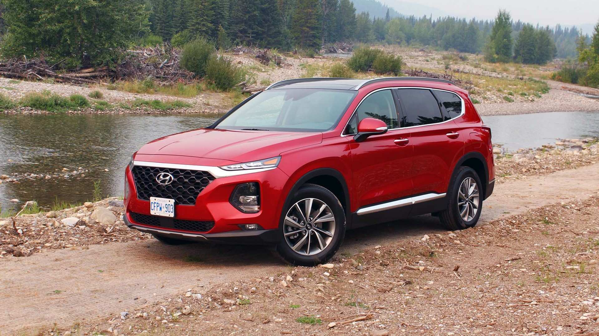 78 The 2019 Hyundai Santa Fe Test Drive Images for 2019 Hyundai Santa Fe Test Drive