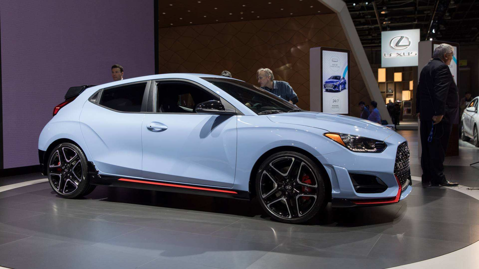 78 The 2019 Hyundai Veloster N Redesign and Concept by 2019 Hyundai Veloster N