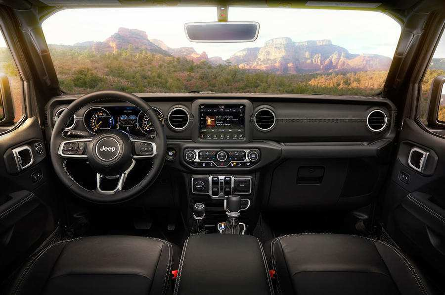 79 Gallery of 2019 Jeep Truck Interior Specs with 2019 Jeep Truck Interior