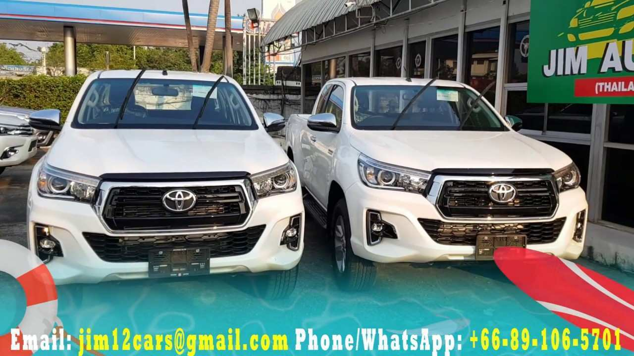 79 Gallery of 2019 Toyota Hilux Facelift Engine by 2019 Toyota Hilux Facelift