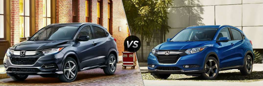79 Great 2019 Honda Hrv Redesign Redesign with 2019 Honda Hrv Redesign