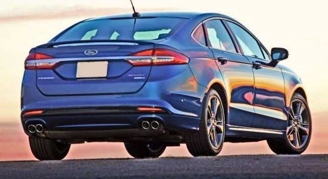 79 New 2020 Ford Fusion Redesign Configurations with 2020 Ford Fusion Redesign