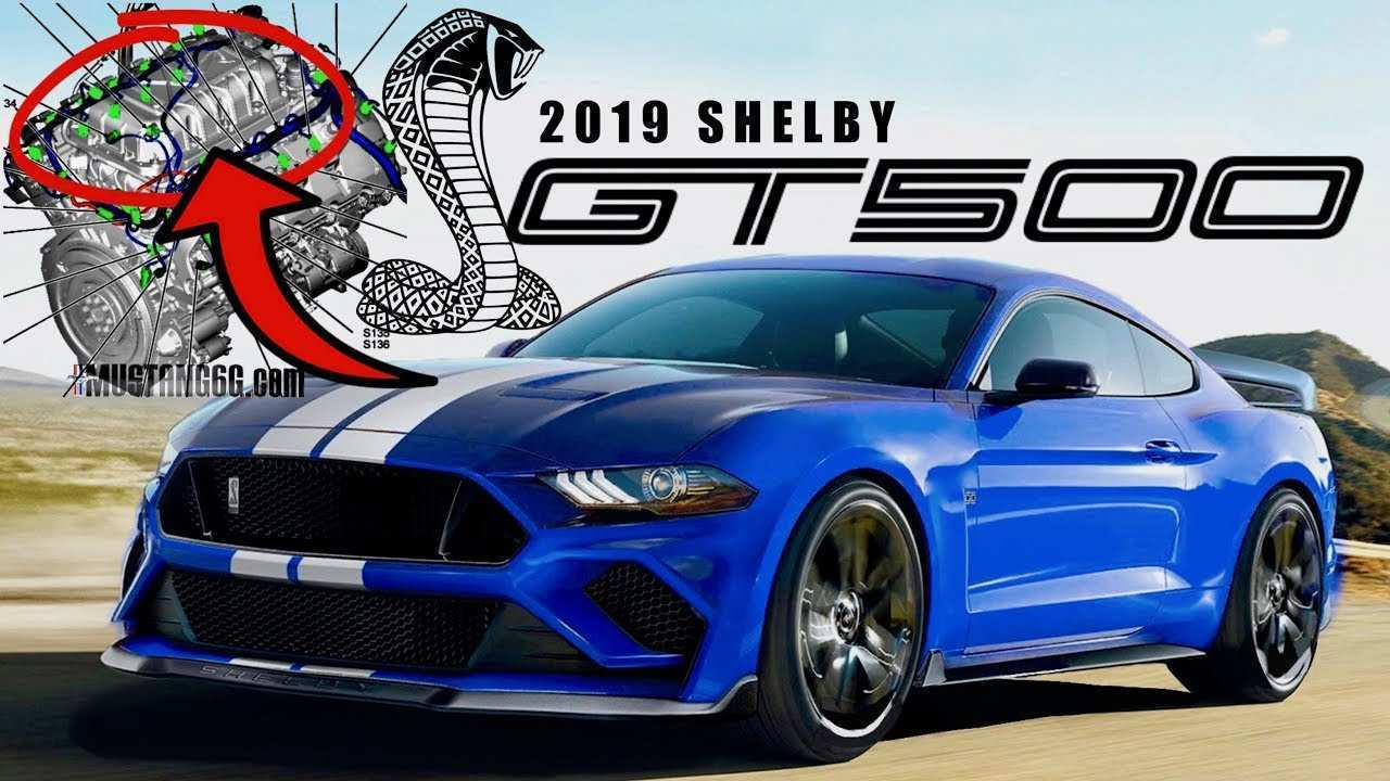 79 The 2019 Ford Shelby Gt500 Exterior and Interior for 2019 Ford Shelby Gt500