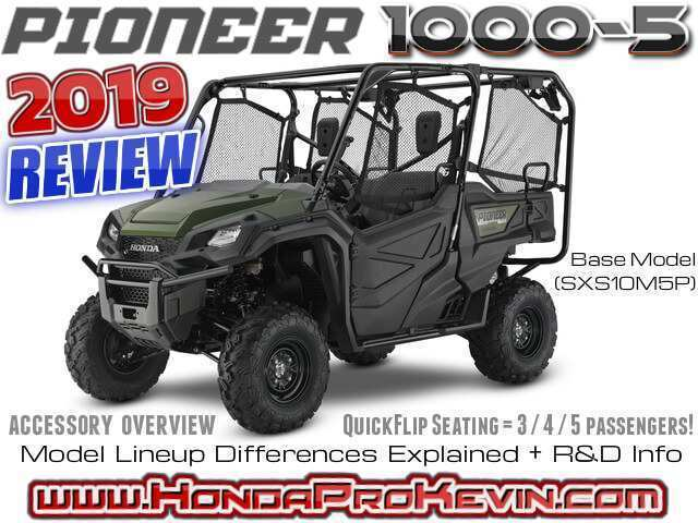 79 The 2019 Honda 1000 Pioneer Specs and Review for 2019 Honda 1000 Pioneer