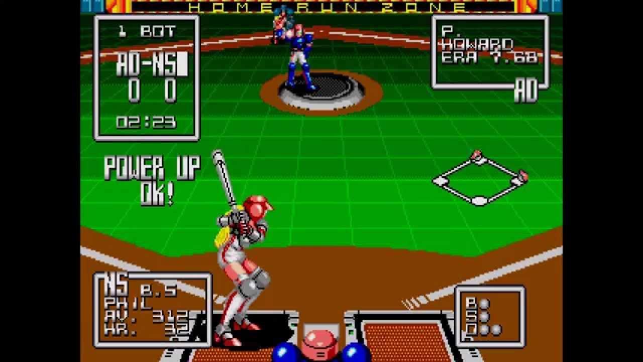 79 The Super Baseball 2020 Sega Genesis First Drive with Super Baseball 2020 Sega Genesis