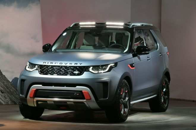 80 Concept of 2019 Land Rover Discovery Svx Release Date by 2019 Land Rover Discovery Svx