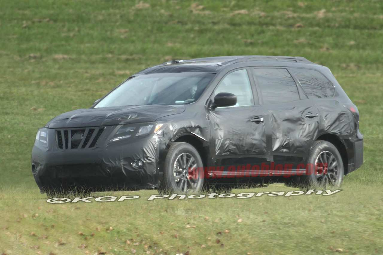 80 New 2019 Nissan Pathfinder Spy Shots Research New with 2019 Nissan Pathfinder Spy Shots